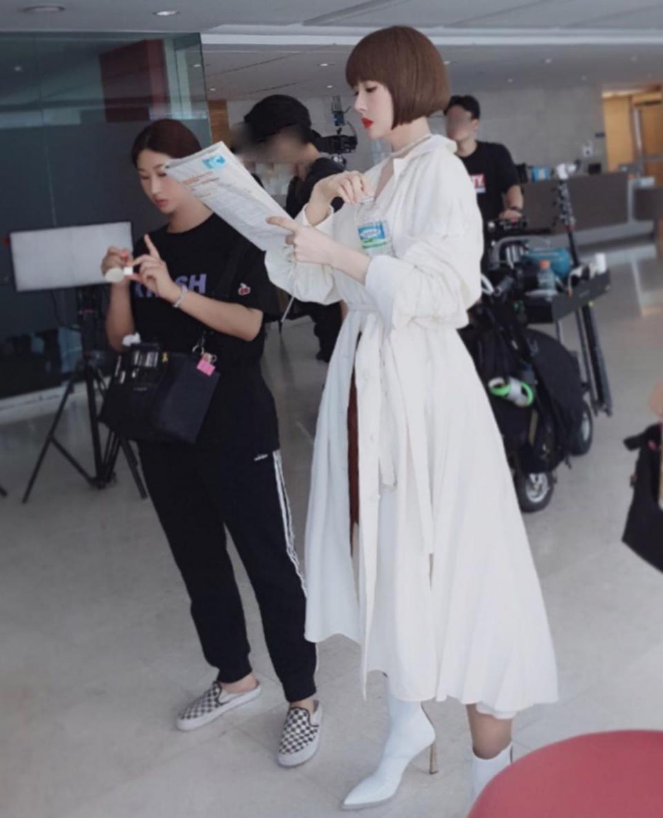 김선아, 13일 인스타그램을 통해 일상 공개