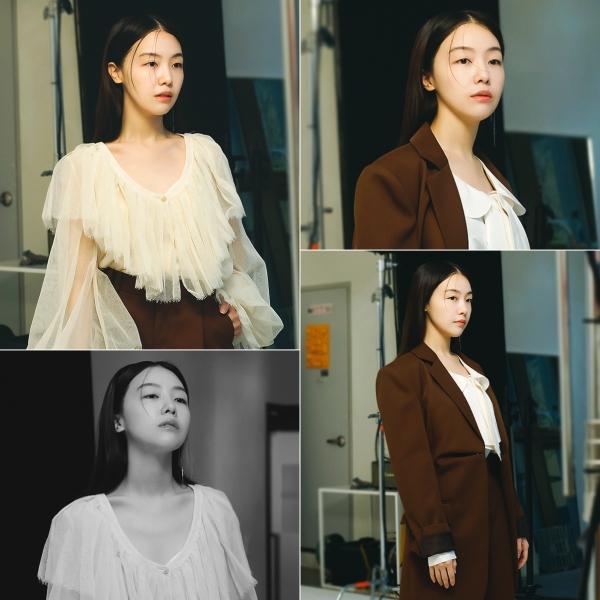 """방민아 """"날 것 그대로의 매력"""" '독립영화의 얼굴' 화보 촬영 비하인드 컷 공개"""