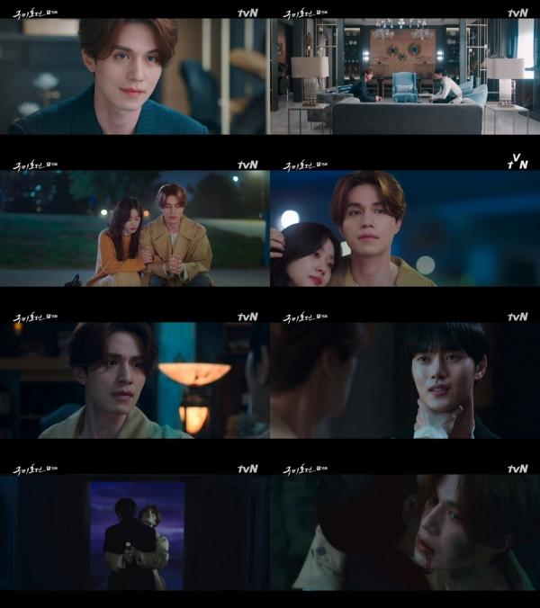 '구미호뎐' 이동욱, 조보아 살리기 위해 생 포기 '순애보의 끝판왕'